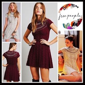 ⭐️⭐️ FREE PEOPLE NORDIC A-LINE SWEATER DRESS