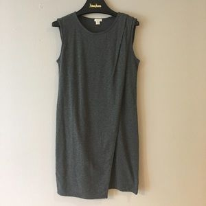 Jcrew drapey knit shift dress xs