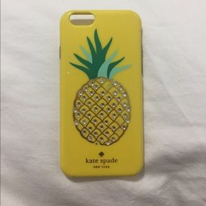 Kate Spade pineapple case iPhone 6/6s