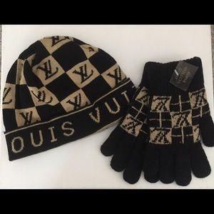 Fabulously Fun Hat&Glove Set