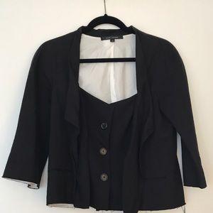 Marc Jacobs black blazer - unique detailing!
