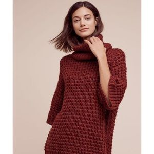 Tracy Reese Anthropologie chunky waffle sweater