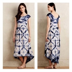 17b24f963962c Anthropologie Dresses - Anthro The Odells Tie Die Skyscape Maxi Dress M