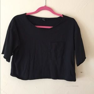 Black crop top from Forever 21