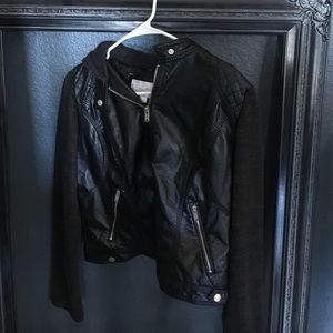 Black Xhilaration Jacket