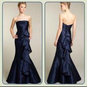 Navy Alvina Valenta Gown