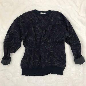 Vintage 80s/90s Paisley Design Sweater