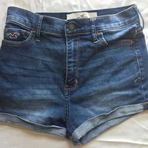 High-Wasted Hollister Jean Shorts
