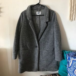 Old navy faux wool style coat