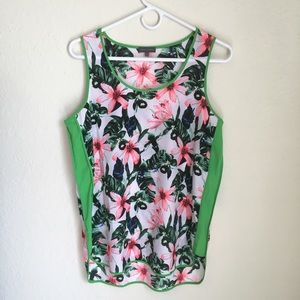 Vince Camuto tropical top
