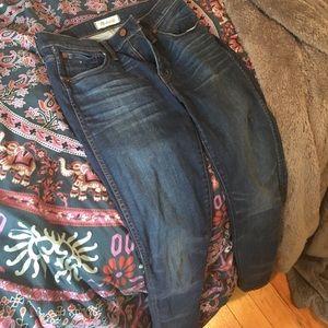 Madewell high waisted skinny jeans