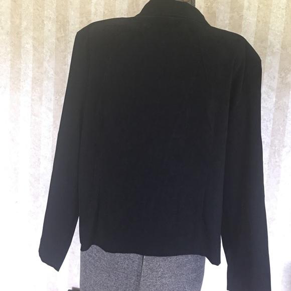 Briggs Jackets & Coats - Suede look zip front jacket