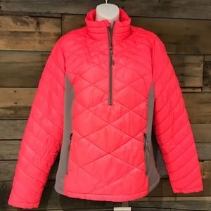Tek Gear quilted 1/2 zip pullover. Size  xlarge