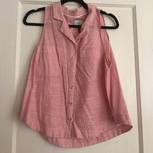 Striped anthropologie top