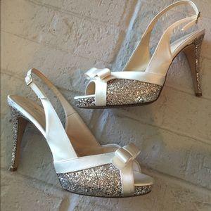 Kate Spade Platform Peep Toe Heels