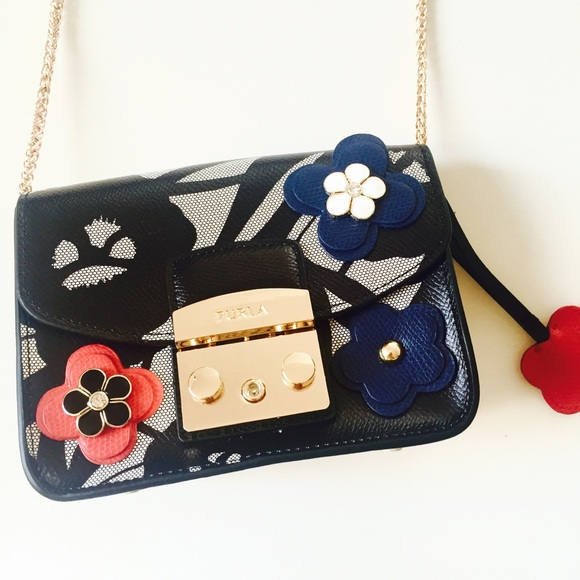 lowest price uk cheap sale footwear Furla Bags | Sale Metropolis Floral Mini Crossbody Bag | Poshmark