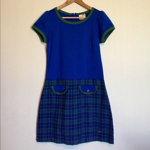Preppy plaid school girl dress