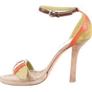 Prada Ankle-Strap Sandals