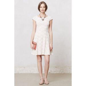 Anthropologie Maeve Dayflower Lace Dress.