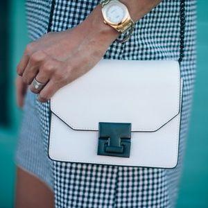 Ivanka Trump 'Hopewell' white print crossbody bag