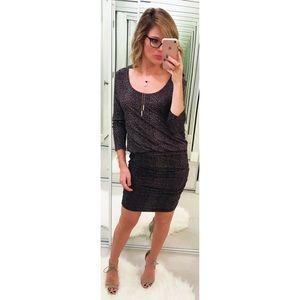 Soft Joie Rera Mini Leopard Print Blouson Dress