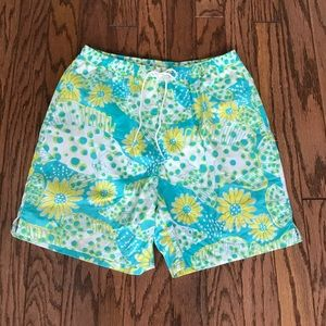 Men's Lilly Pulitzer swim trunks size L