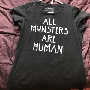 Black American Horror Story T-shirt