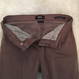 Urban outfitters brown vintage jeans