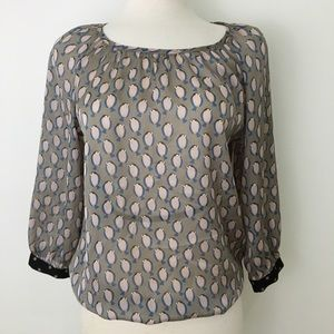 The Limited bird blouse XS