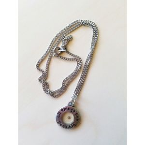 Jewelry - Faith Necklace Silver Mustard Seed