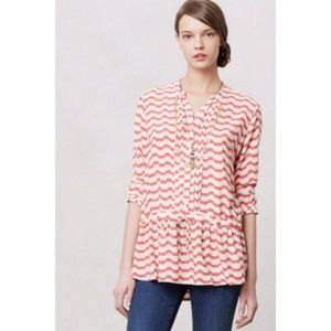 Anthropologie Isabella Sinclair Striped Tunic