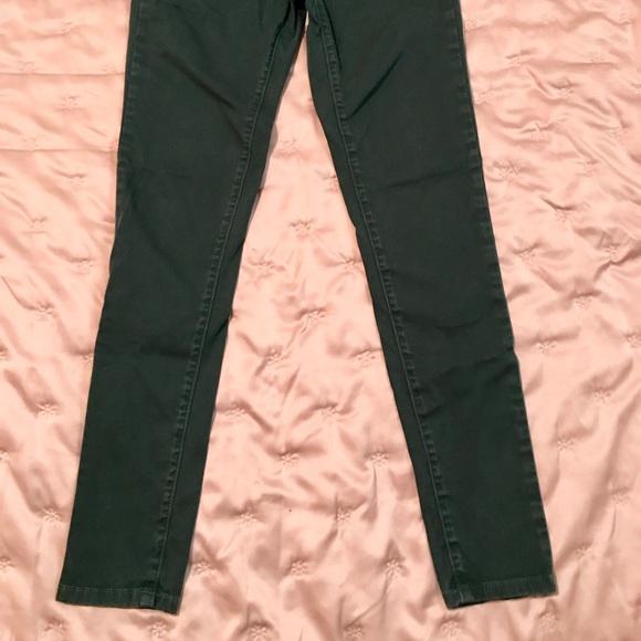 Carmar Pants - CARMAR green skinny pant 26