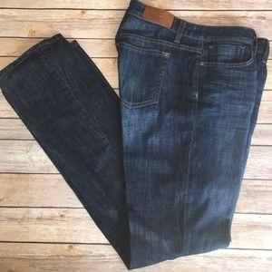 Joe's Jeans high waist wide flair pant leg jeans