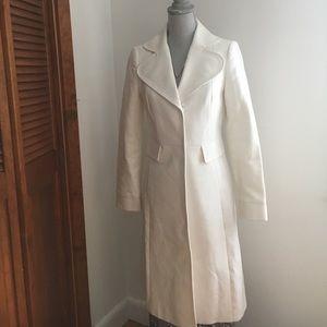 Zara Woman size 6 long peacoat