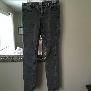 ASOS Black Acid Wash Denim Jeans