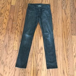 7 for all Mankind Roxanne skinny jeans size 27