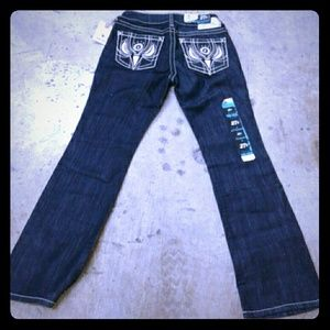 Denim - 🐣New Turquoise Angel Ariat Jeans