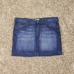 Old Navy Skirt Size 16 Dark Wash Blue