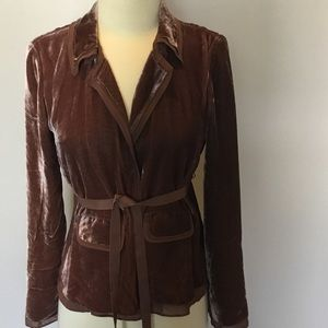 J. Crew Velvet Jacket. Size 2 New with Tags!