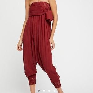 Free People convertible jumpsuit