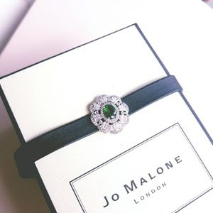 Green Gemstone Choker