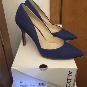 Blue Aldo Stilettos