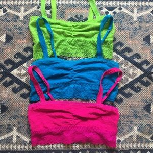 3 bralette bundle