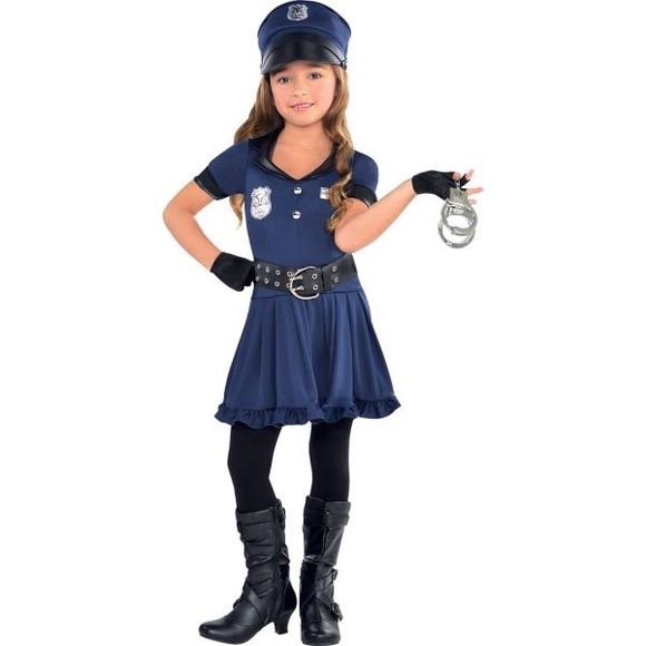 Girls Cop Costume Size S  sc 1 st  Poshmark & Costumes | Girls Cop Costume Size S | Poshmark