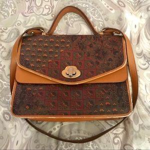 Gorgeous Vintage Escada!! 😍 Portfolio Handbag!