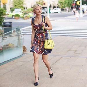 Nicole Miller Dresses - Nicole Miller feather printed dress
