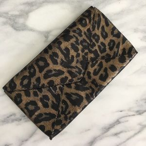 Kenneth Cole Leopard Print Clutch