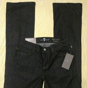 2 Pair Of 7 For All Mankind Jeans