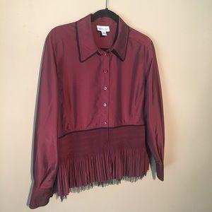 Coldwater Creek adorable blouse Size PL
