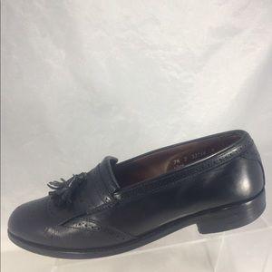 Allen Edmonds bridgeton black tassel slip-on shoes